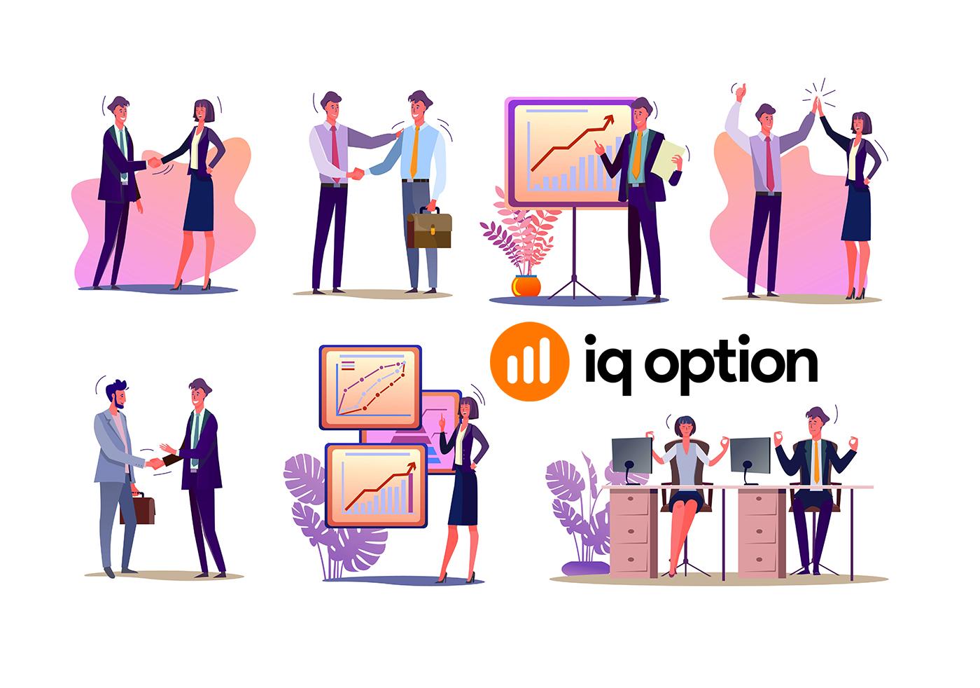 So treten Sie dem Partnerprogramm bei und werden Partner bei IQ Option