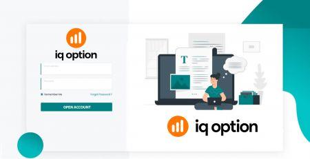 So eröffnen Sie ein Handelskonto und registrieren sich bei IQ Option