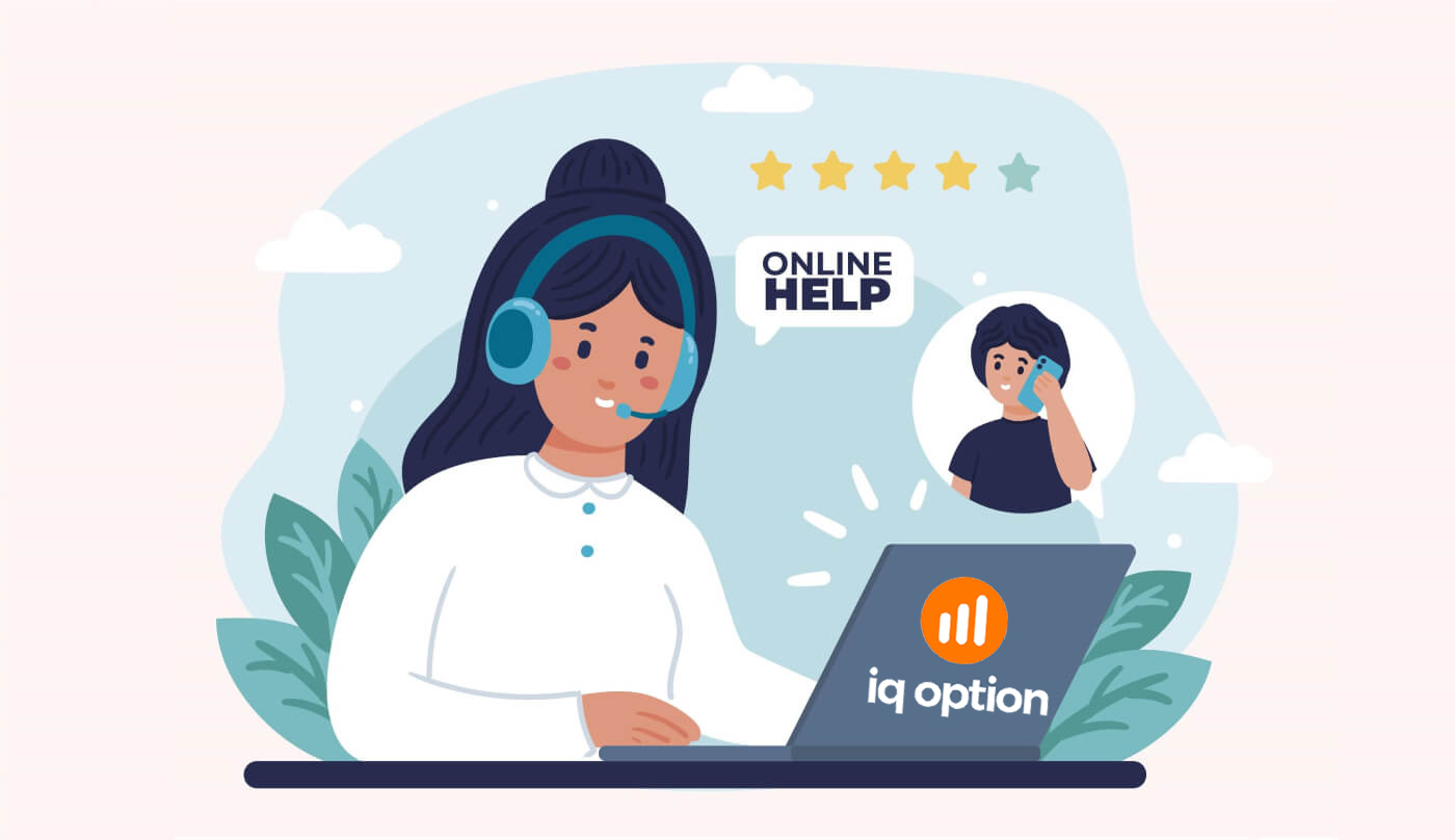 So kontaktieren Sie den IQ Option-Support
