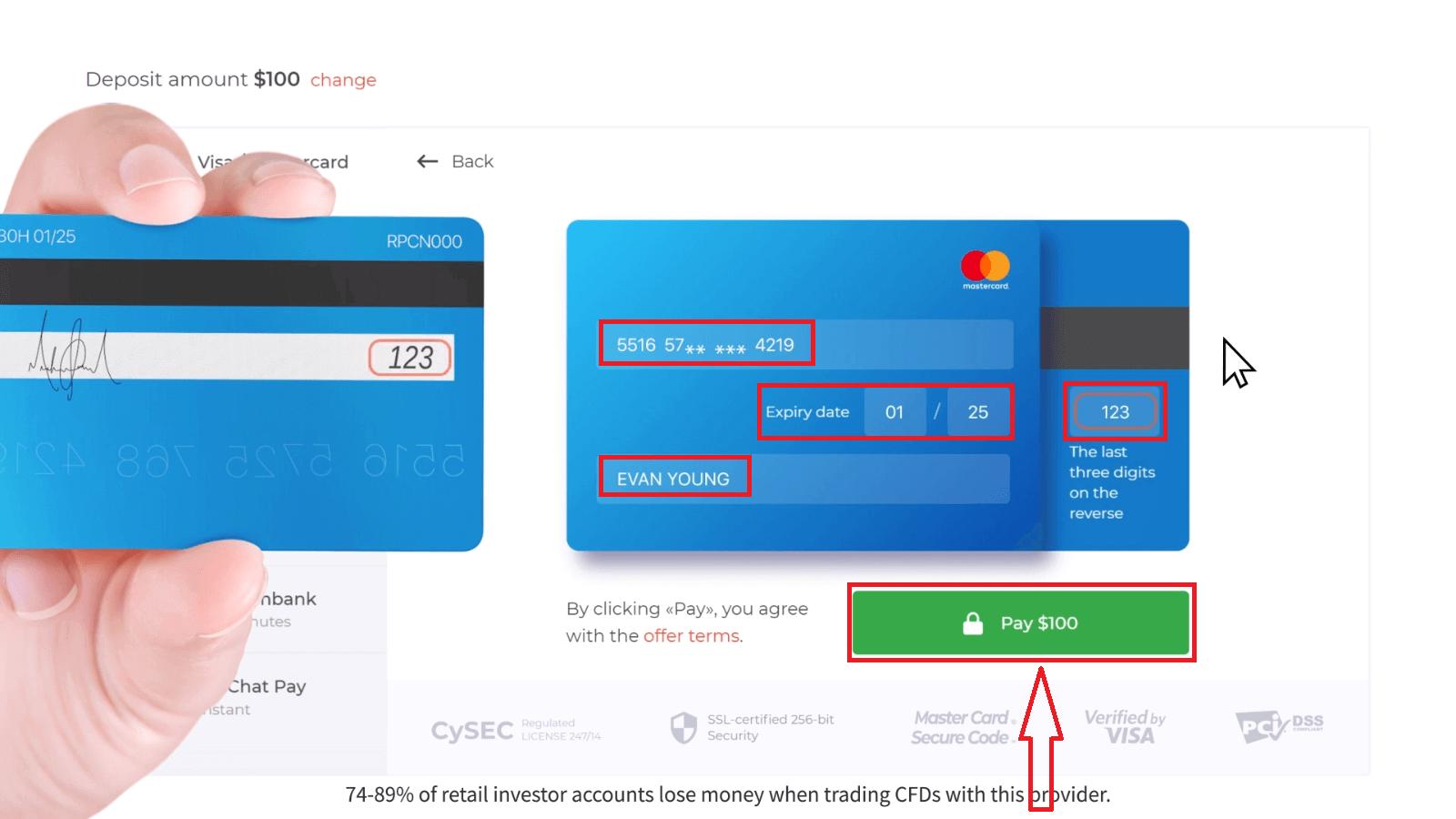 Wie man Geld in IQ Option einzahlt